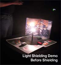 Light Shielding Demo, Before